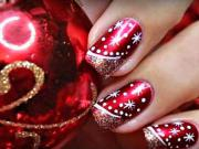 Nechty s vianočným motívom