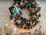 Vánoční výzdoba 27 - inspirace na výzdobu interiéru