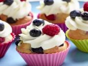 Velikonoční muffiny s ovocem - recept