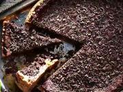 Čokoládová torta - recept na čokoládovo - piškótovú tortu