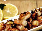 Krevety v pikantní medové marinádě s vlašskými ořechy - recept