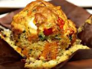 Slané tekvicové muffiny s Feta syrom - recept