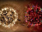 Svietiaca guľa z plastových pohárov - svietiaca guľa z pohárov (ANG)