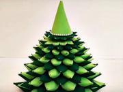 8a6fb1cef Vianočný stromček z papierových ruličiek - VIDEO Ako sa to robí.sk