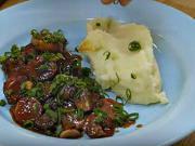 Hovädzie na hubách zo zeleninou - recept