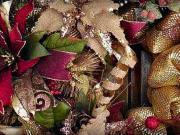 vánoční věnce a dekorace - inspirace na vánoční věnce a dekorace  - Vánoční výzdoba 42
