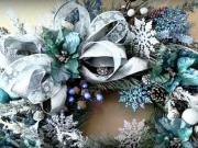 Vánoční věnce - inspirace na vánoční věnečky