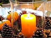 Vianočné dekorácie na stôl - nápady na vianočné aranžmá