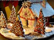 Vianočná perníková chalúpka