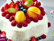Ovocný dort s mascarpone - recept