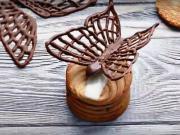 Motýl z čokolády - jak vyrobit motýla z čokolády