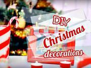 Vánoční dekorace - nápady na vánoční ozdoby