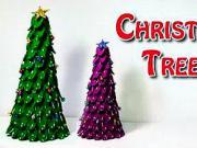 Vianočný stromček z plastových lyžičiek