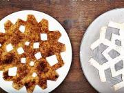 Sladké snehové vločky z tortily - recept