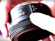 Lacný objektív Canon EF 50mm f / 1,8 STM