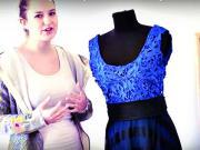 Jak udělat dlouhé krajkové šaty na ples?