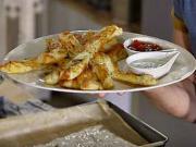 Slané tyčinky so syrom cheddar - recept