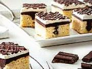 Koláč s čokoládou a tvarohovým krémem - recept
