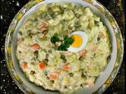 Domáci majonézový šalát - recept