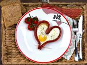 Valentýnska snídaně - recept
