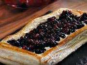 Tvarohový koláč s ovocem - recept