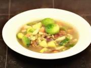 Zeleninová polievka - recept na hutnú zeleninovú polievku