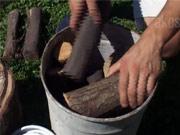 Výroba dreveného uhlia - ako vyrobiť drevené uhlie