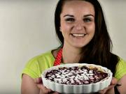Čerešňový koláč s tvarohom - recept