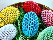 Veľkonočné vajíčka z papiera - ako vyrobiť papierové veľkonočné vajíčka