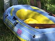 Stříška na člun - jak si vyrobit stříšku na gumový člun