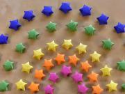 Hviezdy z papiera - papierové hviezdy