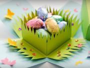 Krabička na veľkonočné vajíčka