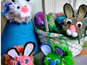 Velikonoční zajíc - inspirace na velikonoční dekorace