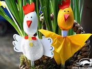Veľkonočné ozdoby pre deti - nápady na veľkonočné dekorácie