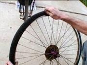 Defekt bicykla - ako opraviť  defekt na bicykli
