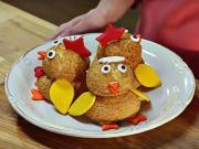 Velikonoční kuřátka z odpalovaného těsta - recept