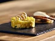 Mango tataráčik s limetkovou penou - recept