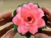 Ruža z papiera - ako si vyrobiť papierovú ružu