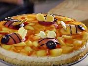 Ovocný dort pro děti  - recept na detský dort