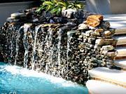 Záhradné vodopády a fontány - 40 zaujímavých nápadov