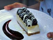 Cheesecake s tvarohom a ovocím - recept