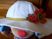 Letný klobúk na záhradu - ľahké šitie