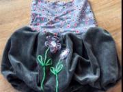 Netradiční zdobení textilu - kanzashi aplikace