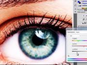 Ako zmeniť farbu očí vo Photoshope