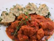 Bravčové ragú s rajčinovo-paprikovou omáčkou - recept
