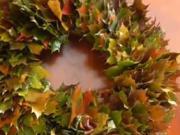 Věneček z listů
