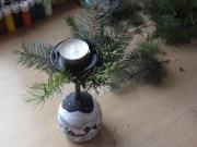Vianočné poháre a svietniky