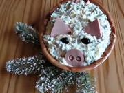 Diétny vianočný šalát - recept