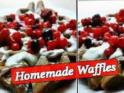 Domáce Waffle - recept