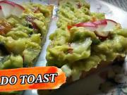 Avokadové toasty - recept na avokádovú pomazánku